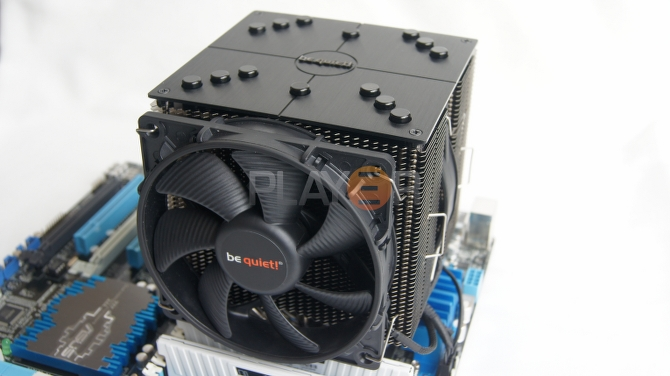 Be Quiet Dark Rock Pro 2 Cooler Fitted