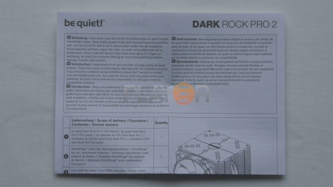 Be Quiet Dark Rock Pro 2 Accessories 5
