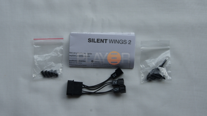Be Quiet Silent Wings 2 120mm Accessories