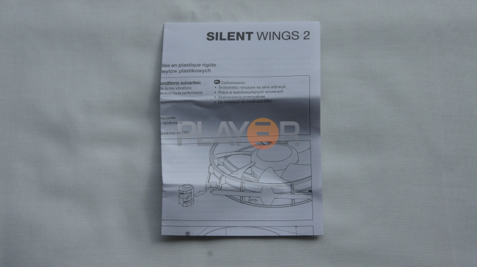 Be Quiet Silent Wings 2 120mm Manual