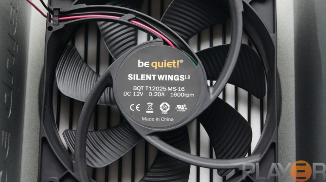Be Quiet Pure Power L8 530W Fan Specifications