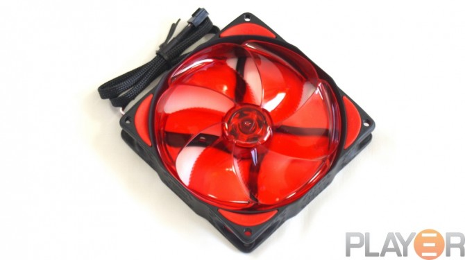 Phobya NBe-Loop 120mm Fan Front