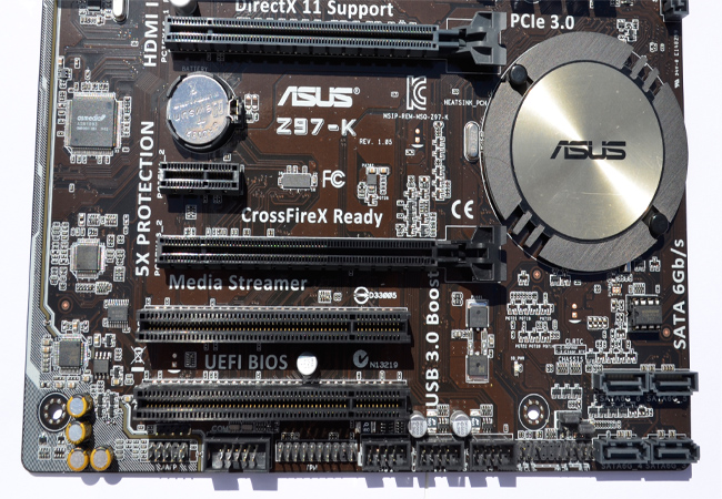 ASUS Z97-K Motherboard Review -Play3r