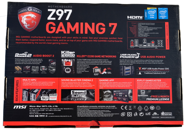 msi z97 gaming 7 motherboard review play3r page 3 Intel Play QX3 Software Intel Celeron Logo