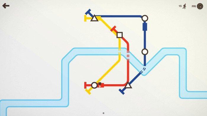 Mini Metro - Screenshot