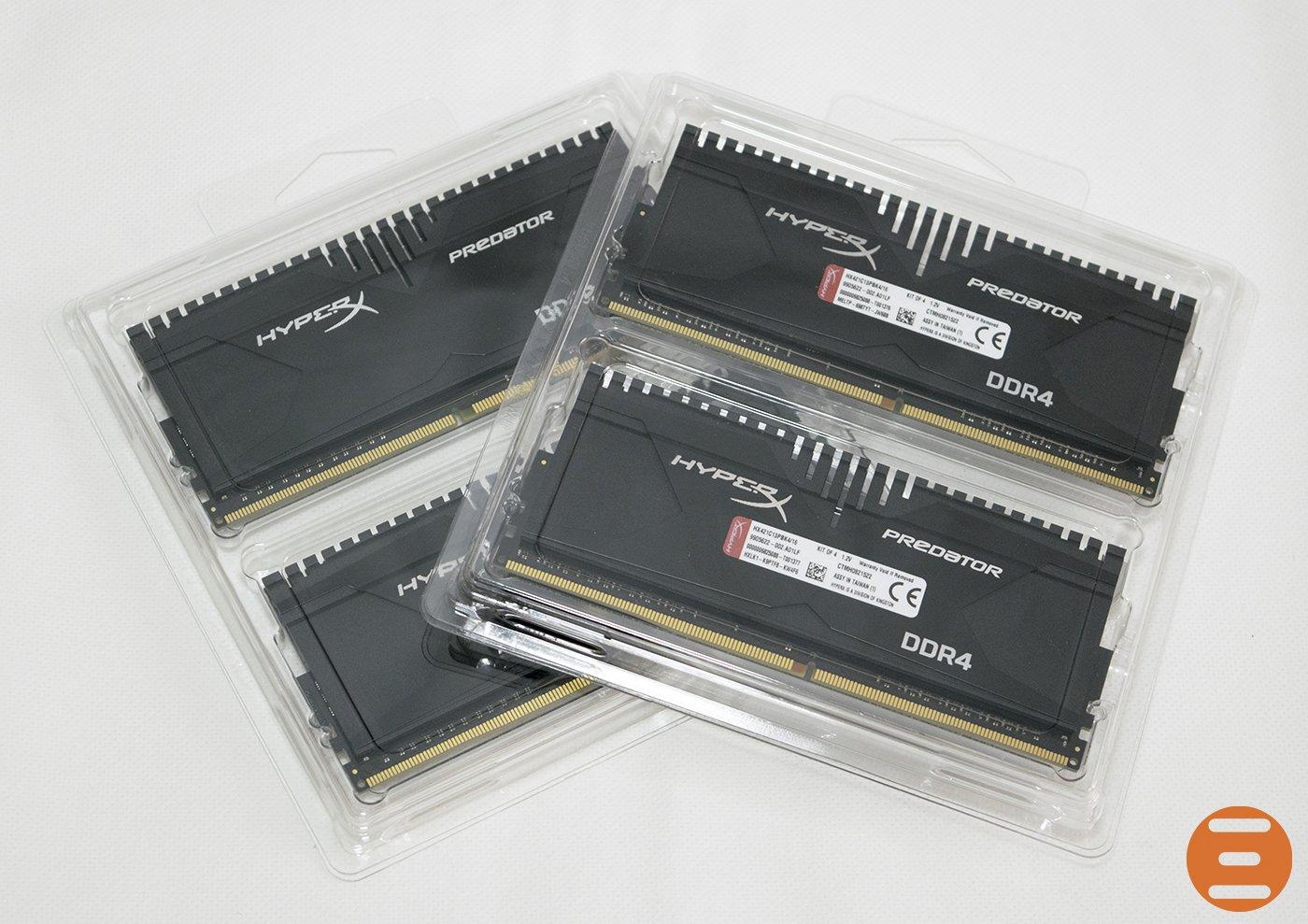 HyperX Predator 2133MHz DDR4 1