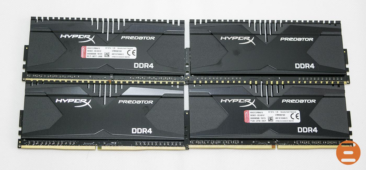 HyperX Predator 2133MHz DDR4 2