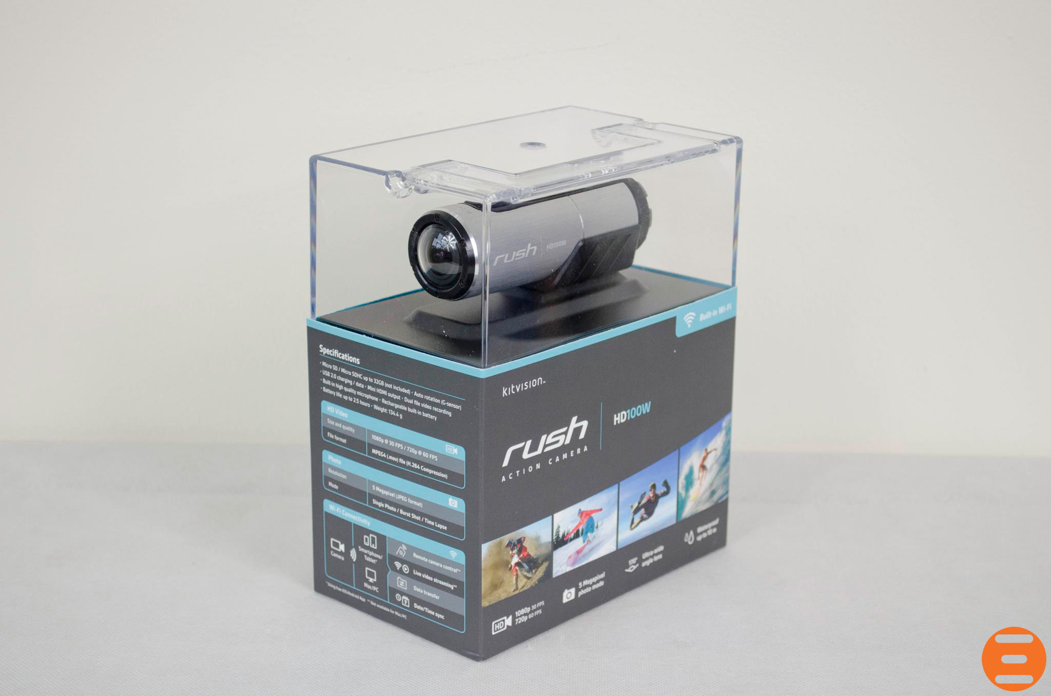 Kitvision-Rush-HD100W-Action-Cam