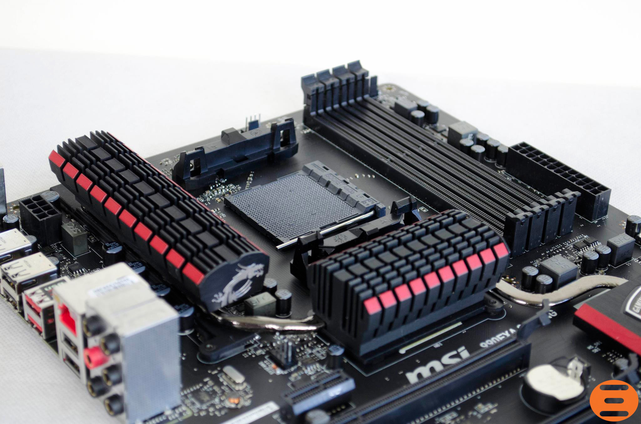 MSI 970 Gaming Motherboard Unboxing - Review - YouTube
