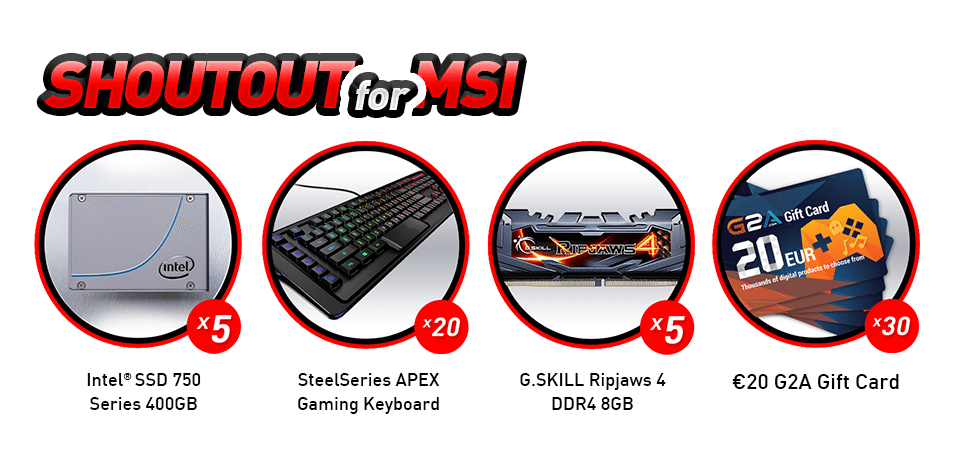 2. Submit motherboard reviews & win prizes