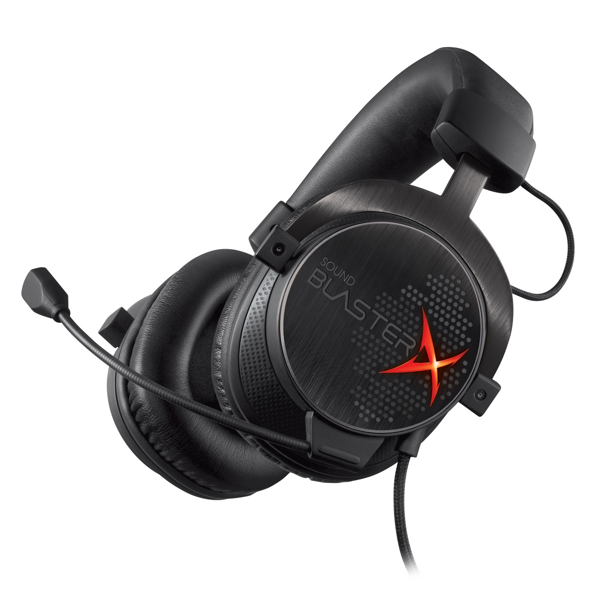 SoundBlasterX headset