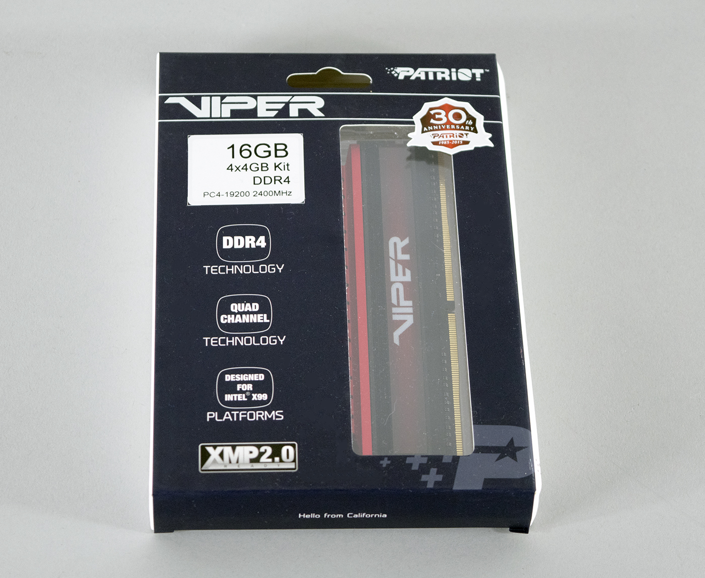 Patriot Viper 4 DDR4 Review 1
