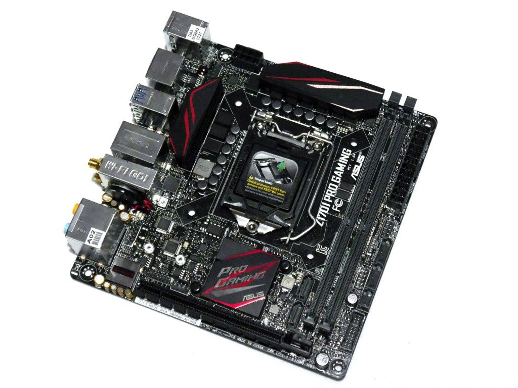 ASUS Z170I PRO GAMING - Front
