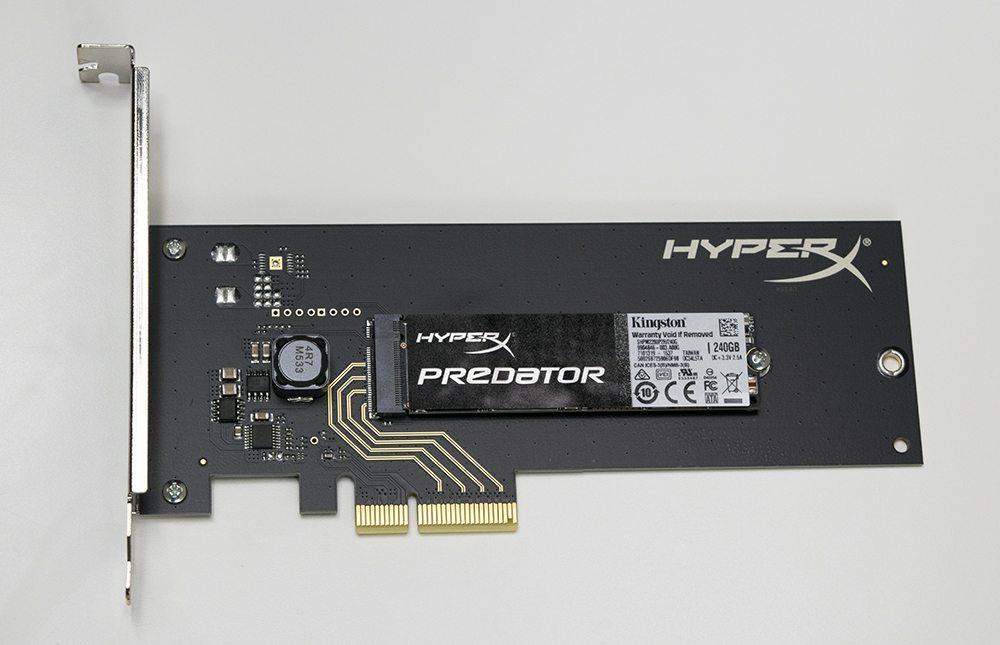 HyperX Predator PCIe 240GB Main 1