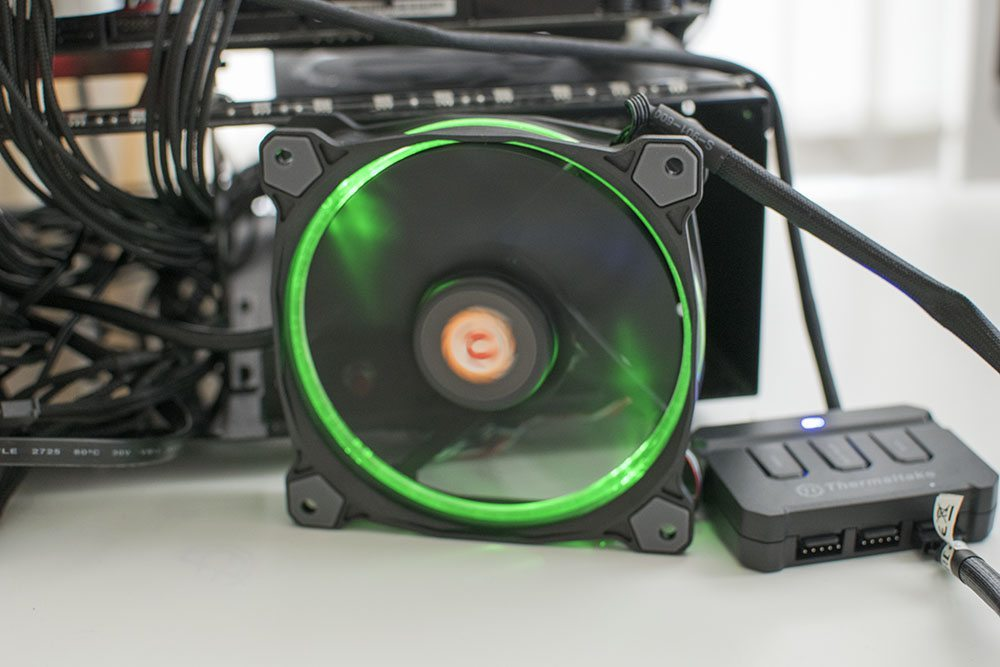 Thermaltake Riing 120 RGB 120mm Fan 7