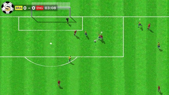 Sociable soccer prototype image