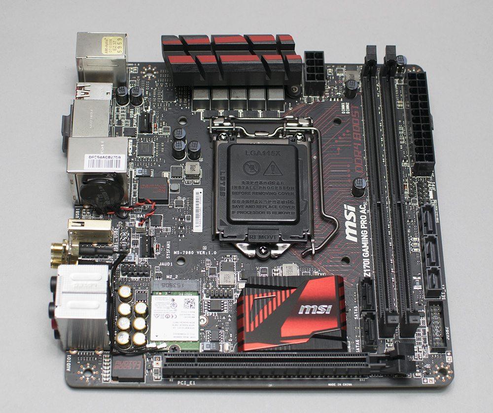 MSI Z170I Gaming Pro AC 1