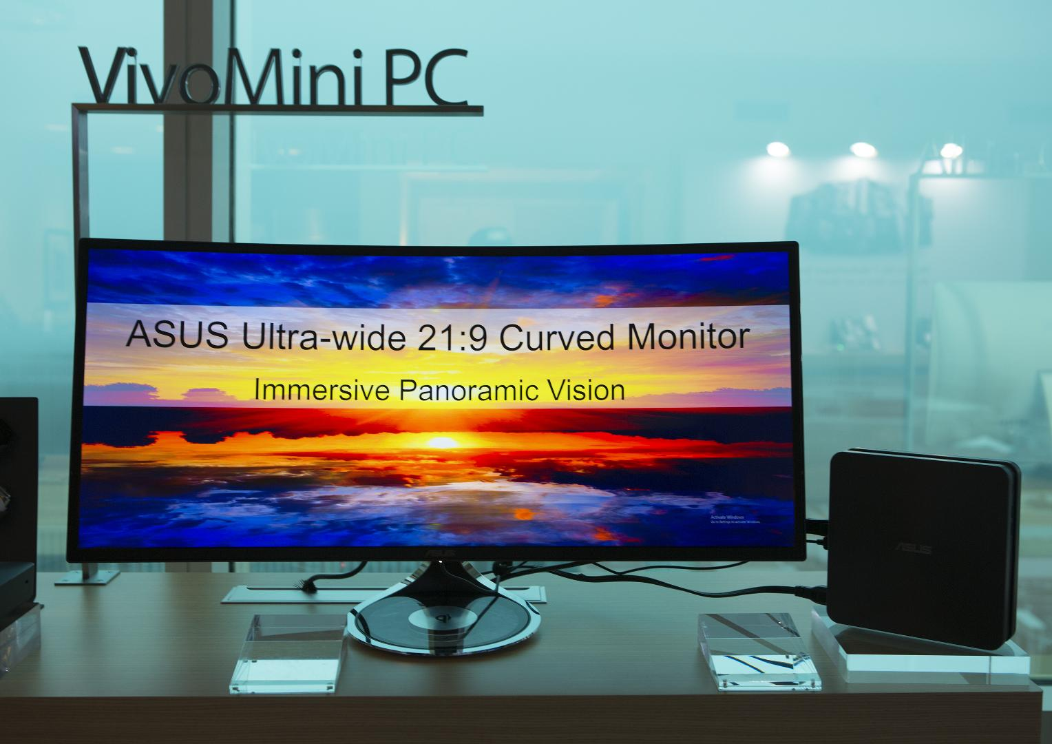ASUS Designo MX Series 34-inch curved monitor