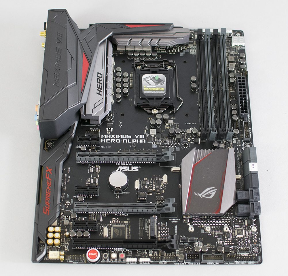 ASUS Z170 Maximus VIII Hero Alpha Review 1