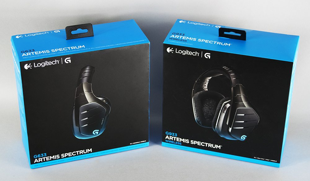 Logitech Artemis Spectrum Headset Review 1