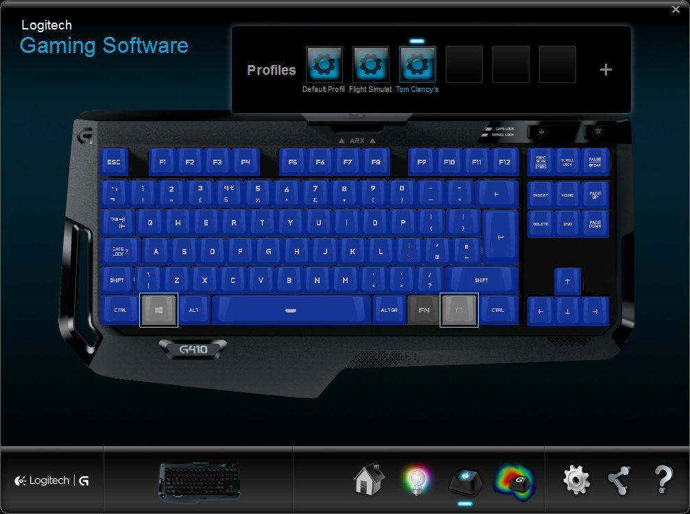 Logitech Gaming Software 6