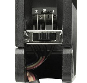 Scythe fan speed switch