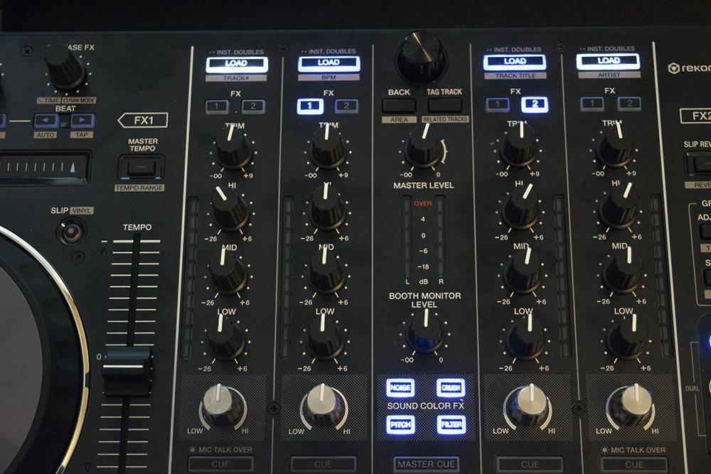 DDJ-RX Top Panel