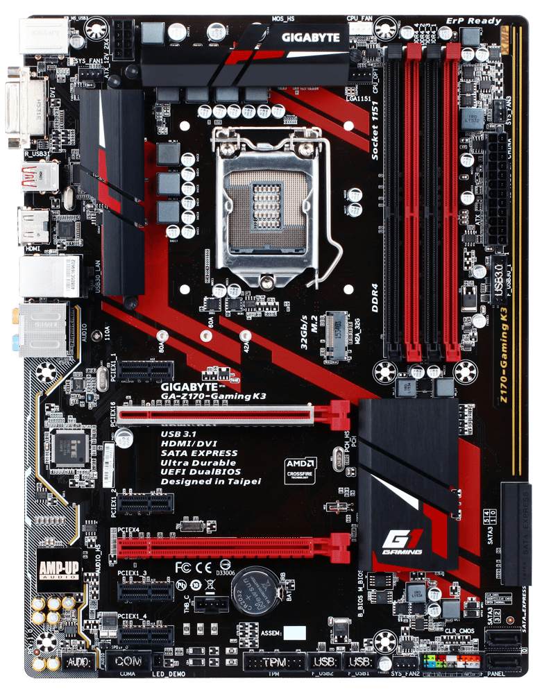 GIGABYTE Z170-Gaming K3 - Overview