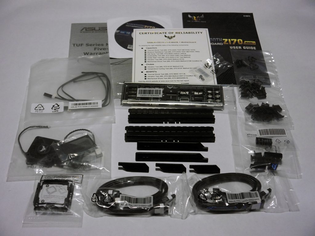 Image showing: ASUS Sabertooth Z170 Mark 1 - Accessories