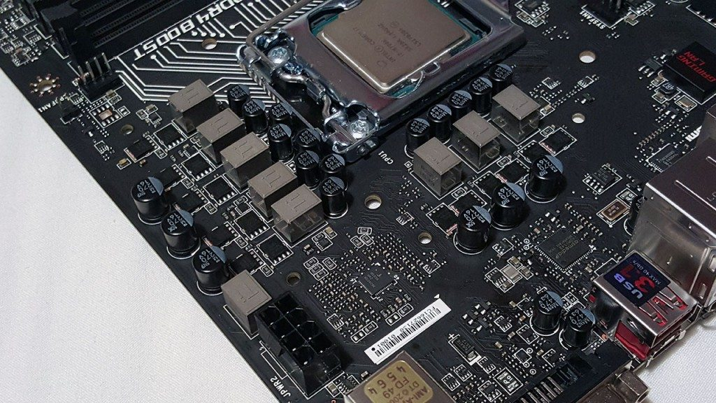 MSI Z170A GAMING PRO CARBON - VRM