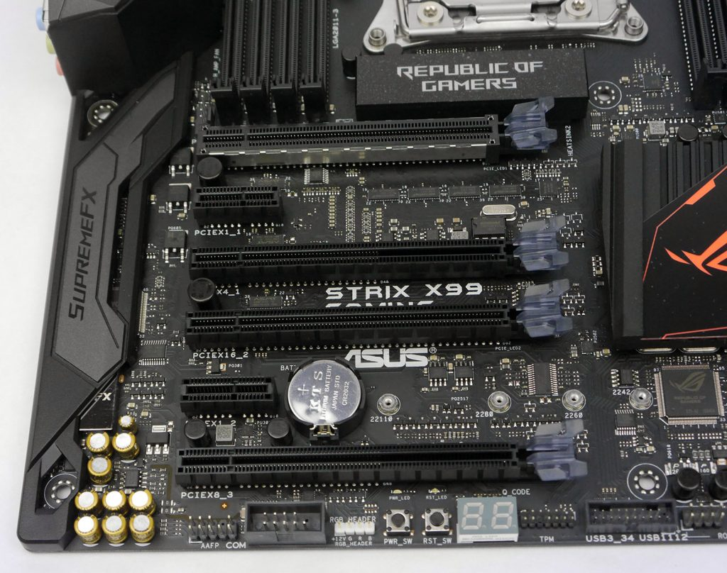 ASUS STRIX X99 Gaming - PCI-E