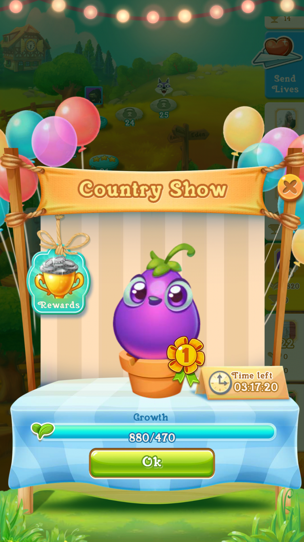 Image of Farm Heroes Super Saga Country Show